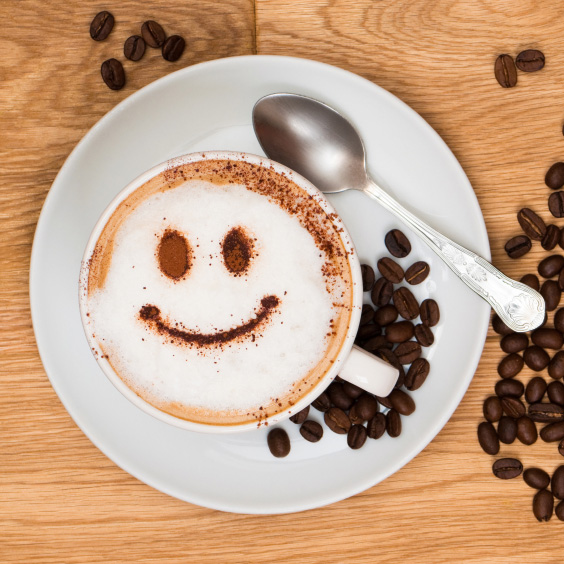 iStock 000011408553Small coffee smile happy square How Much Caffeine In A  Oz Cup Of Coffee