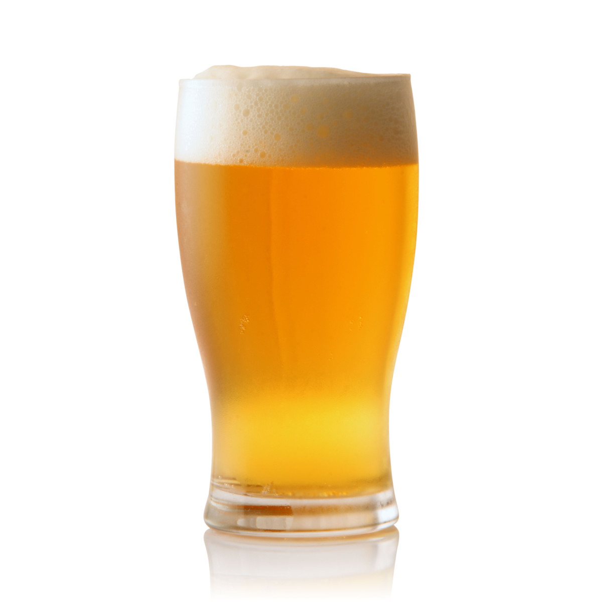 beer-single-tall-glass-on-white-background